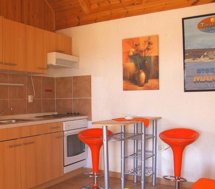 bungalow B3-1 sea kitchen